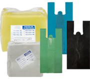 Sacolas Plásticas Reextrusadas Coloridas
